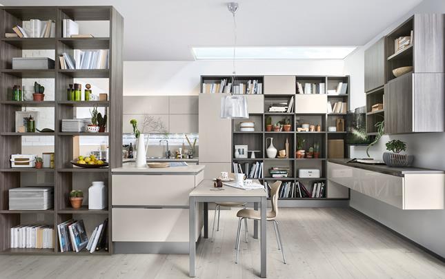 Cucina e soggiorno: ambiente unico! | MoBel Arredamenti